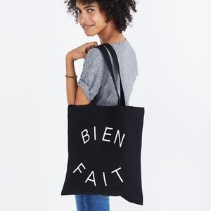 Madewell Reusable Canvas Tote